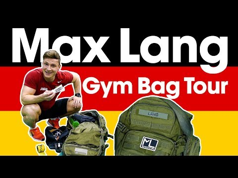 "Max Lang - ""What's in Your Bag?"" - ATG Gym Bag Tour"
