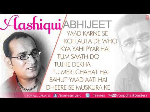 Aashiqui Full Songs Jukebox  Abhijeet Bhattacharya Best Album Songs