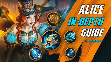 The queen of Lifesteal and Juking | Alice an in-depth Guide | Mobile Legends