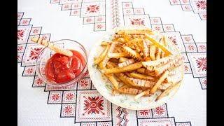 Картопля фрі в духовці❤️Картошка фри в духовке
