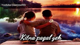 ❤Dil ka rishta Bada Hi Pyara Hai❤::Love song::❤whatsapp status video ❤