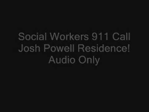 Josh Powell 911 Call Made By the Social Worker Audio Only!