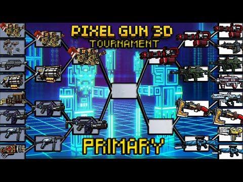 Pixel Gun 3D - Viking VS Combat Rifle (Primary Tournament #27)