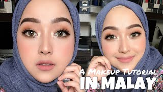 Easy Full Glam Makeup tutorial (in Malay)