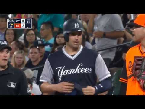 New York Yankees vs Baltimore Orioles - HIGHLIGHTS (INNING 1,2,34) - August 24, 2018