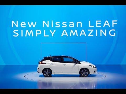 New Nissan LEAF World Premiere Reveal