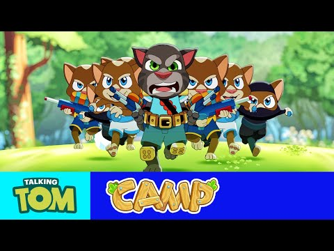 Talking Tom Camp – Epic Water Fight (Official Launch Trailer)