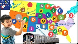 Throwing A Dart At A Map and Johny Goes on an MTA SUBWAY TRAIN RIDE