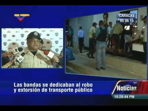 PNB desmanteló 4 bandas criminales, 5 PoliCaracas heridos en Cota 905