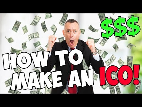 How To Make MILLIONS Launching An ICO!