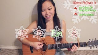"""santa baby"" - taylor swift easy guitar tutorial/chords"