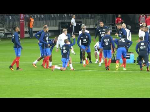 Raphaël Varane ● Djibril Sidibé ● Moussa Sissoko ● Biélorussie vs France 2016