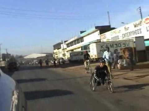 World AIDS Marathon 2007 Kisumu, Kenya