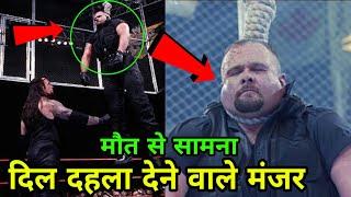 5 Most Horrifying Moments in WWE History (WCW, ECW) ! Undertaker Hangs Big Bossmam Wrestlemania 15