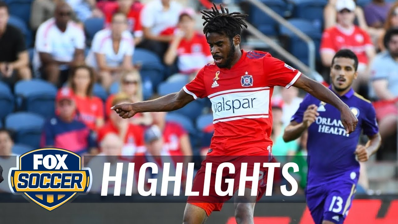 Chicago Fire vs. Orlando City SC | 2018 MLS Highlights