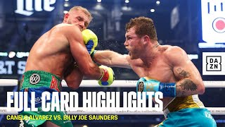 FULL CARD HIGHLIGHTS | Canelo vs. Saunders