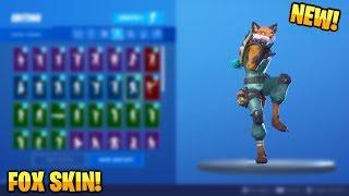 Fortnite - All *LEAKED* v10.10 Skins & Emotes! (Fox, Moonwalking...)