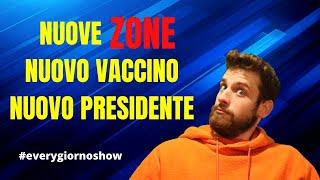 Covid, nuovi colori per le regioni, nuovo vaccino, eletto presidente usa, every giorno show, e.1