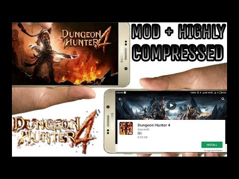 Highly Compressed || Dungeon Hunter 4 Mod || Apk+Data Mod || Licence Error Solve || By Be Cool