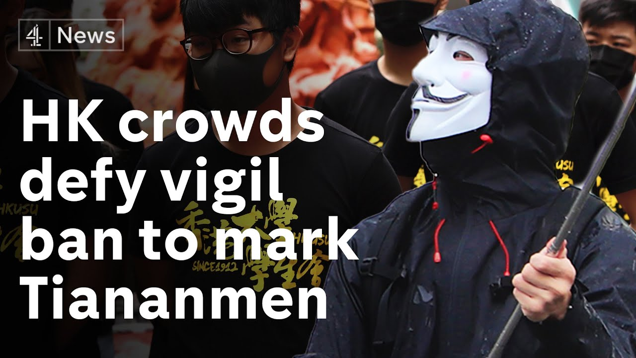 Hong Kong's Tiananmen Square Vigil Is Banned As Authorities ...
