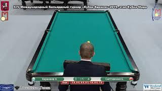 Кубок Кремля 2019 TV37 1 день