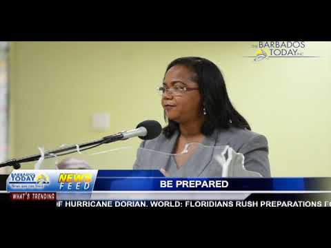 BARBADOS TODAY EVENING UPDATE - AUGUST 30, 2019