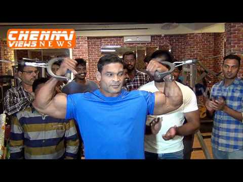 MUSCLE TOWN UNISEX FITNESS STUDIO INAUGURATION IN ROYAPETTAH