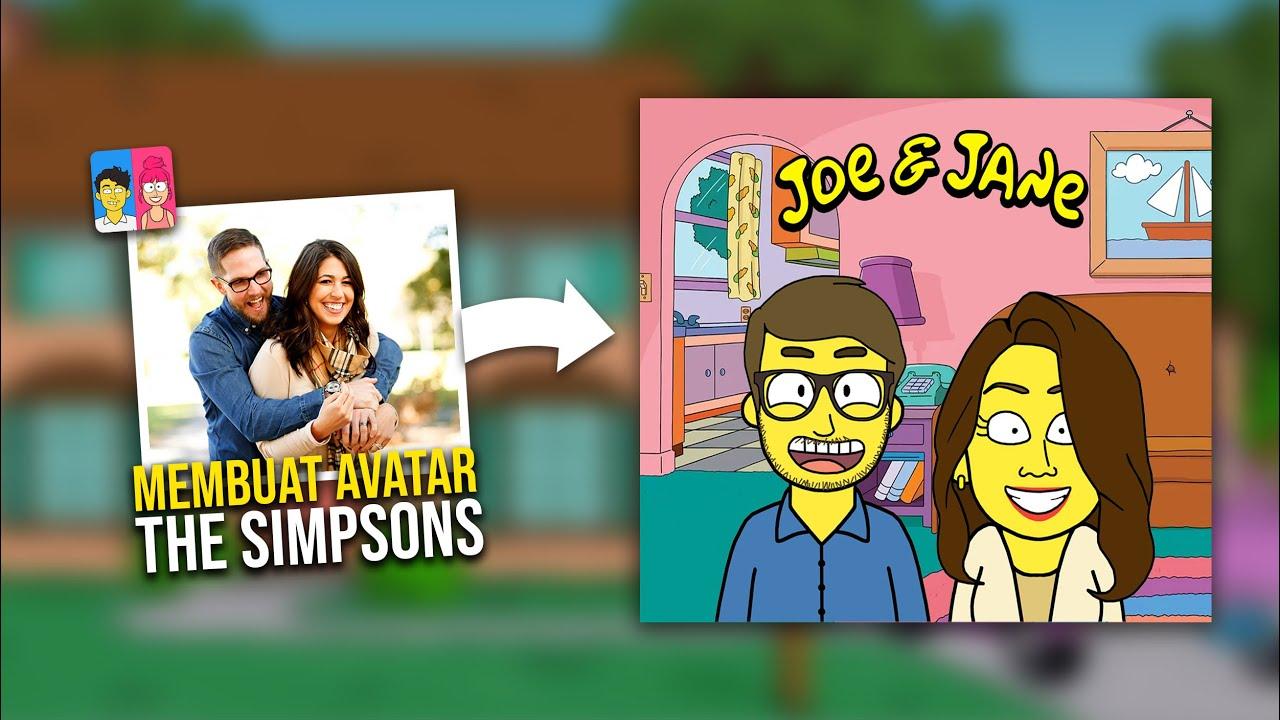 Cara Membuat Avatar The Simpsons di Android   DOLLTOON TUTORIAL