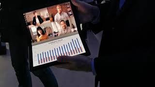 Lenovo ThinkPad X1: así es el primer ordenador con pantalla flexible