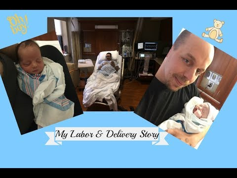 Labor and Delivery Story|| pre-term labor|| I get emotional