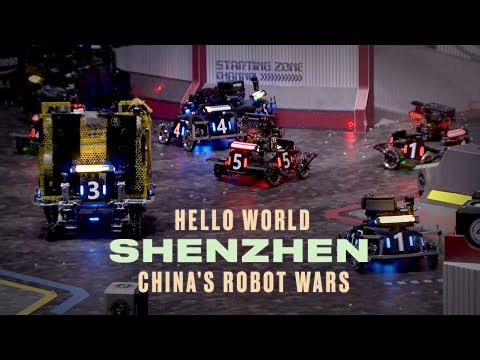 China's High-Stakes Robot Wars