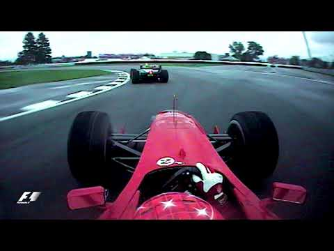Schumacher Battles Coulthard | 2000 US Grand Prix