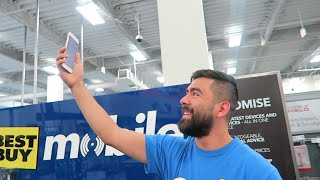 I Got the Last Gold 256GB iPhone 8 Plus at Best Buy! | UNBOXING | Brandon and Tobi