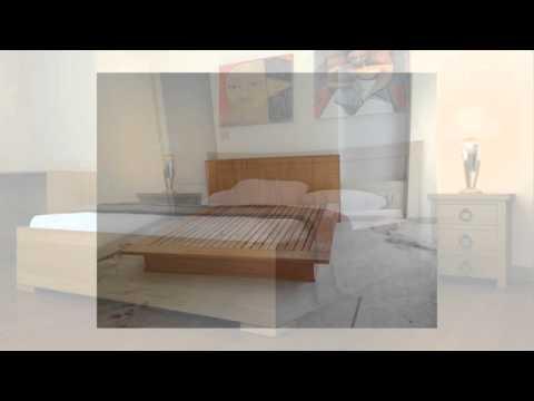 Mẫu giường hiện đại - giường gỗ tự nhiên