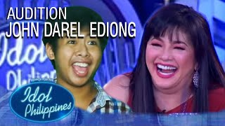 Darel Ediong - Butsekik | Idol Philippines 2019 Auditions