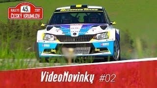 45. Rallye Český Krumlov 2017 - průjezdy a rozhovory po RZ 4