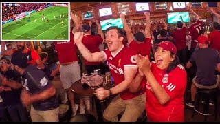 Liverpool Roma 5 - 2 Fan Reactions USA