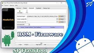 solucin Como Instalar ROM - Firmware Con SPMDT?  SP MultiDownload Tool