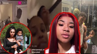YOUNGBOY MAKES A SONG ABOUT JANIA,MONEYYAYA,BABYKACEY, & KAYY 😅💚 le@ked..!