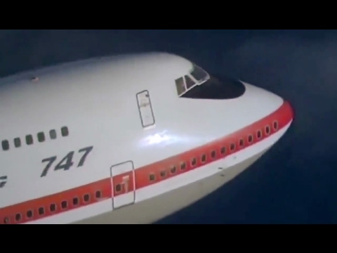 """Boeing 747-100 """"jumbo jet"""" first flight tibute from Smithsonian National Air and Space Museum"""