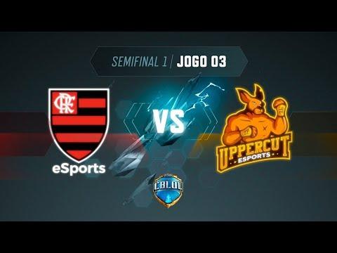 CBLoL 2019: 2ª Etapa - Semifinal 1   Flamengo x Uppercut (Jogo 3)