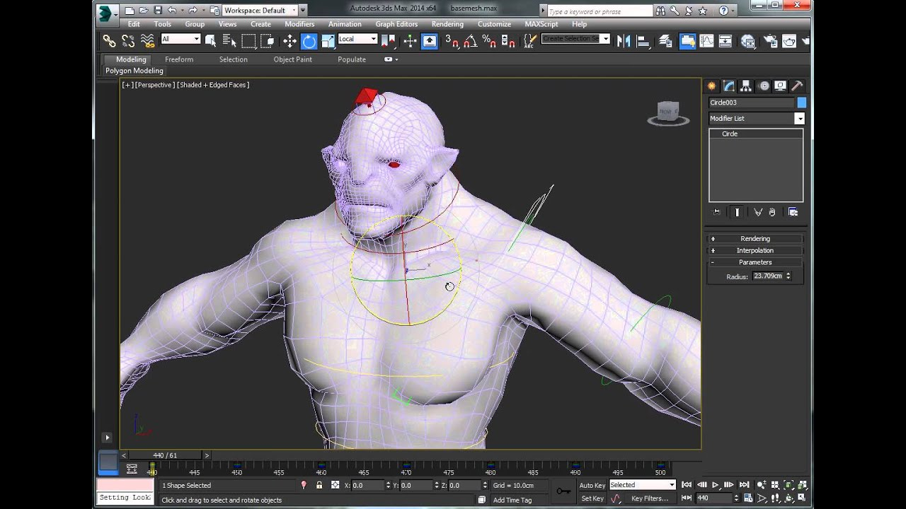 rigging tutorial part 5 muscles deformation with stretchy bones