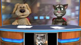 Talking Tom & Ben  SInhala funny songs
