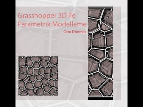 Grasshopper 3D ile Parametrik Modelleme