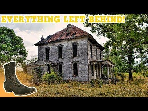 Abandoned Old Plantation House! (Amazed at what we Saw!)