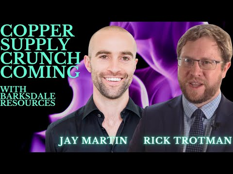 Copper Crunch Coming with Barksdale Resources TSX:BRO
