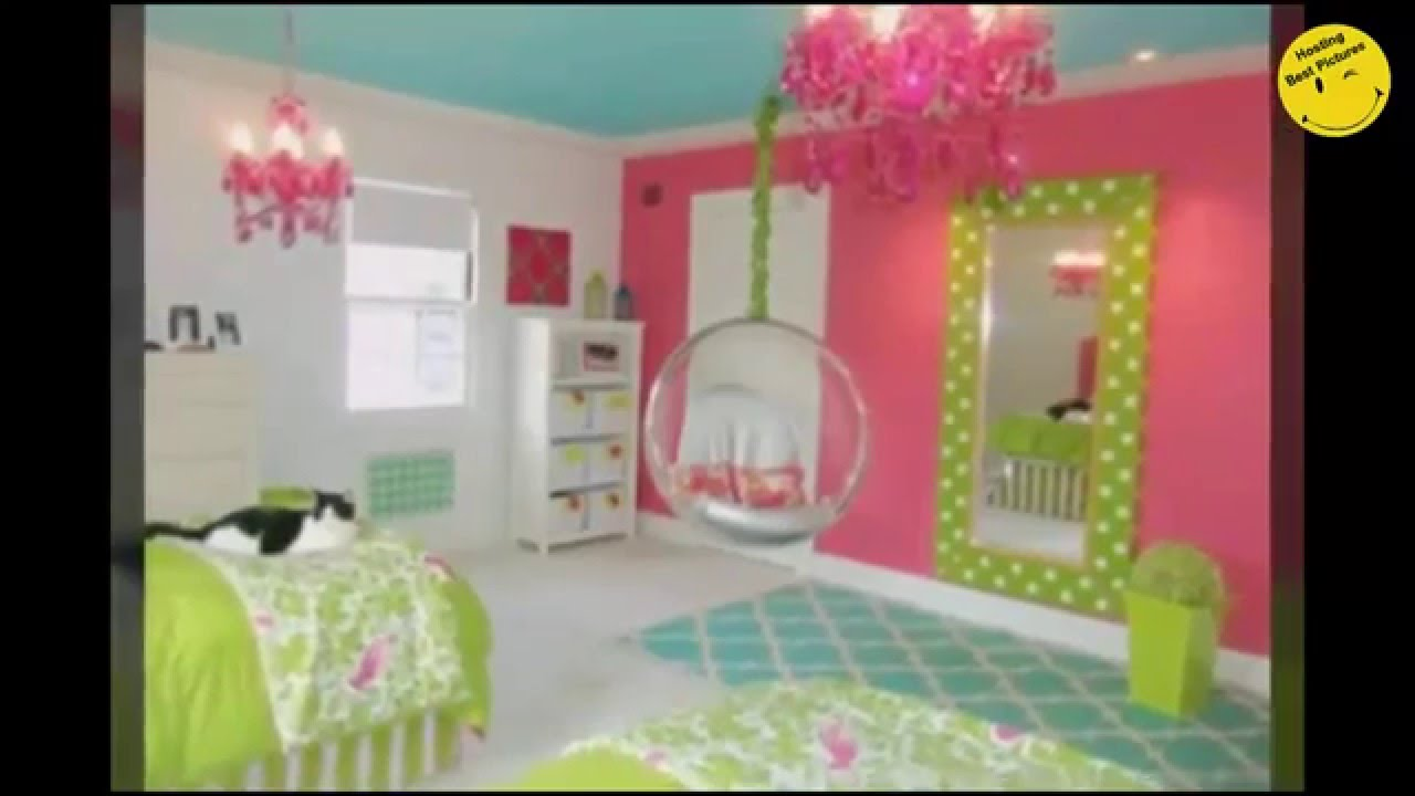 Most Beautiful Bedrooms for girls in 2016 - YouTube on Beautiful Room For Girls  id=27030
