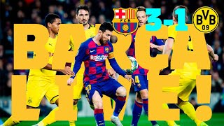 Barça 3 - 1 Dortmund | BARÇA LIVE: Match Center #BarçaBVB