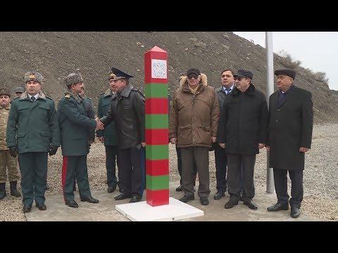 DSX - Azərbaycan-Rusiya sərhədində ilk sərhəd nişanı quraşdırıldı