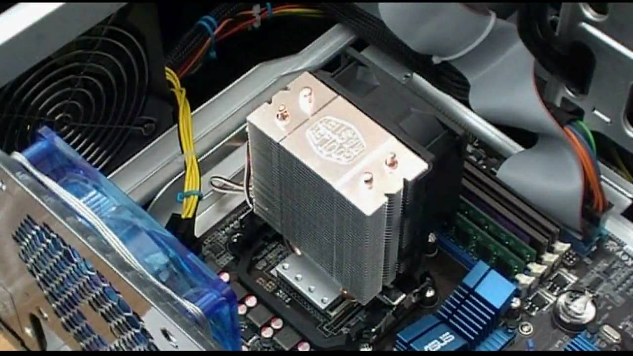 Cooler Master Hyper101 How to install
